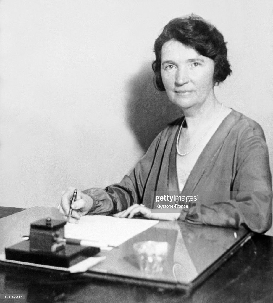 Margaret Sanger In The 1920S. : News Photo