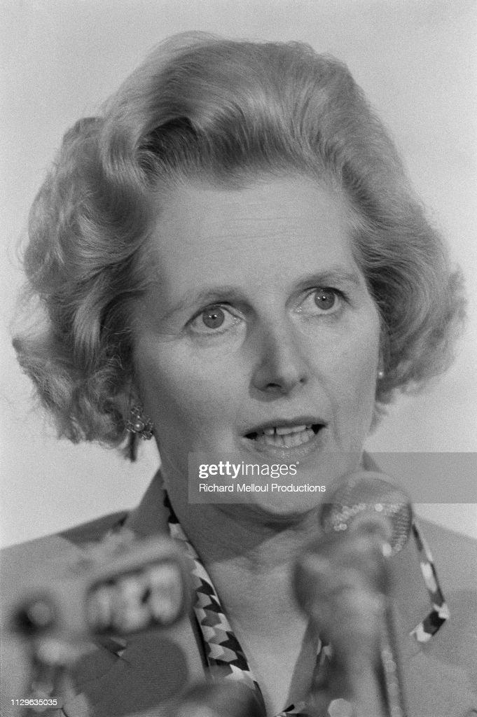 Margaret Thatcher's stay in Paris : Photo d'actualité