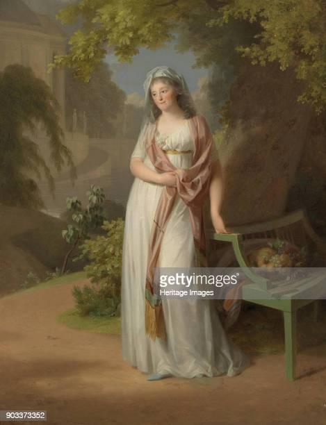 Portrait of Margravine Luise von AnhaltDessau Private Collection