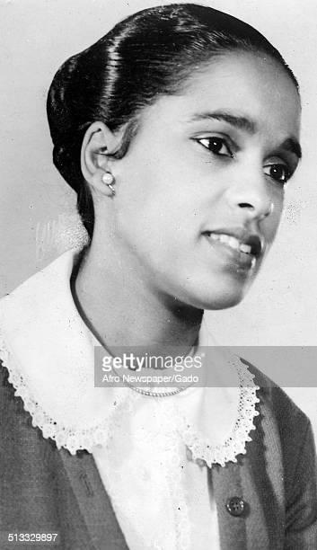 Portrait of Marguerite Belafonte 1960
