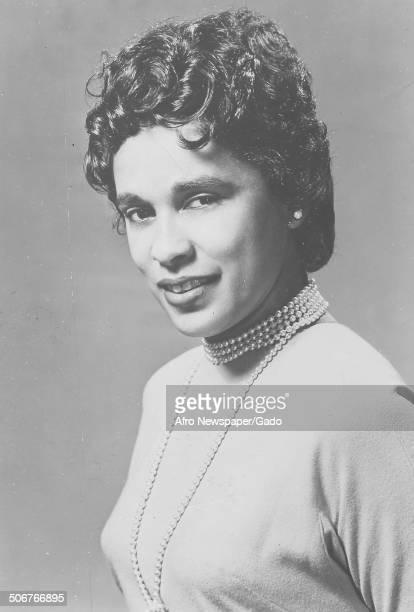 Portrait of Marguerite Belafonte April 1959