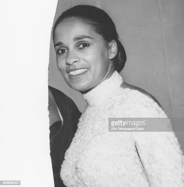 Portrait of Marguerite Belafonte November 19 1961