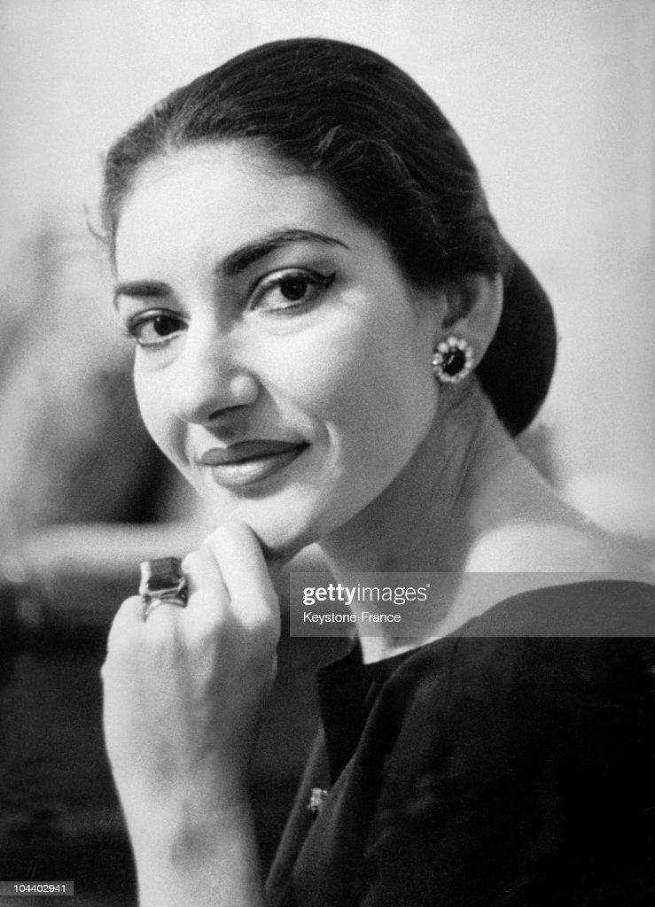 Maria Callas In The 1960S : News Photo