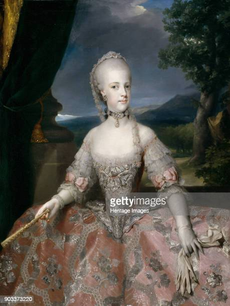 Portrait of Maria Carolina of Austria Found in the Collection of Museo del Prado Madrid