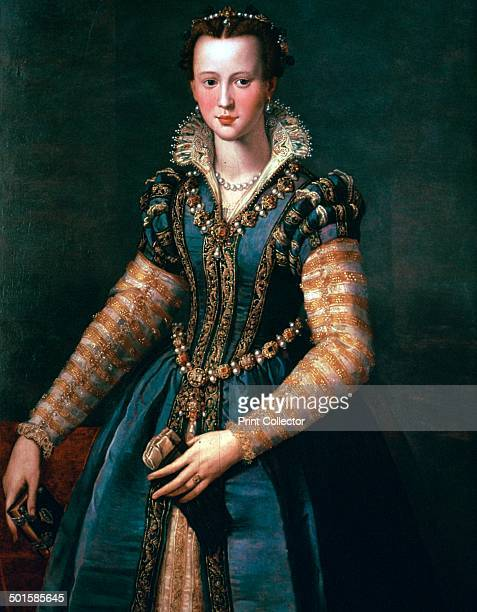 Portrait of Maria de Medici 26 April 1575 4 July 1642 from the Kunthistoriches Museum's collection Vienna 16th century