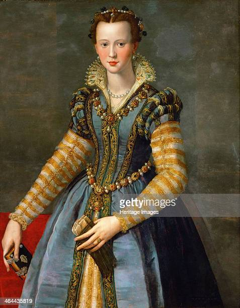 Portrait of Maria de' Medici ca 1555 Found in the collection of the Art History Museum Vienne