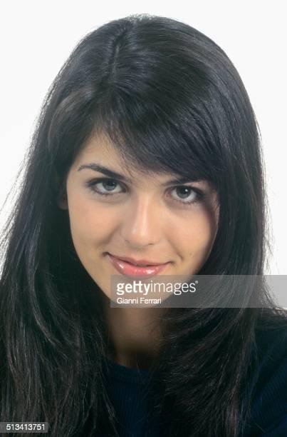 A portrait of Maria Reyes Miss Spain 1995 23rd November 1995 Madrid Spain