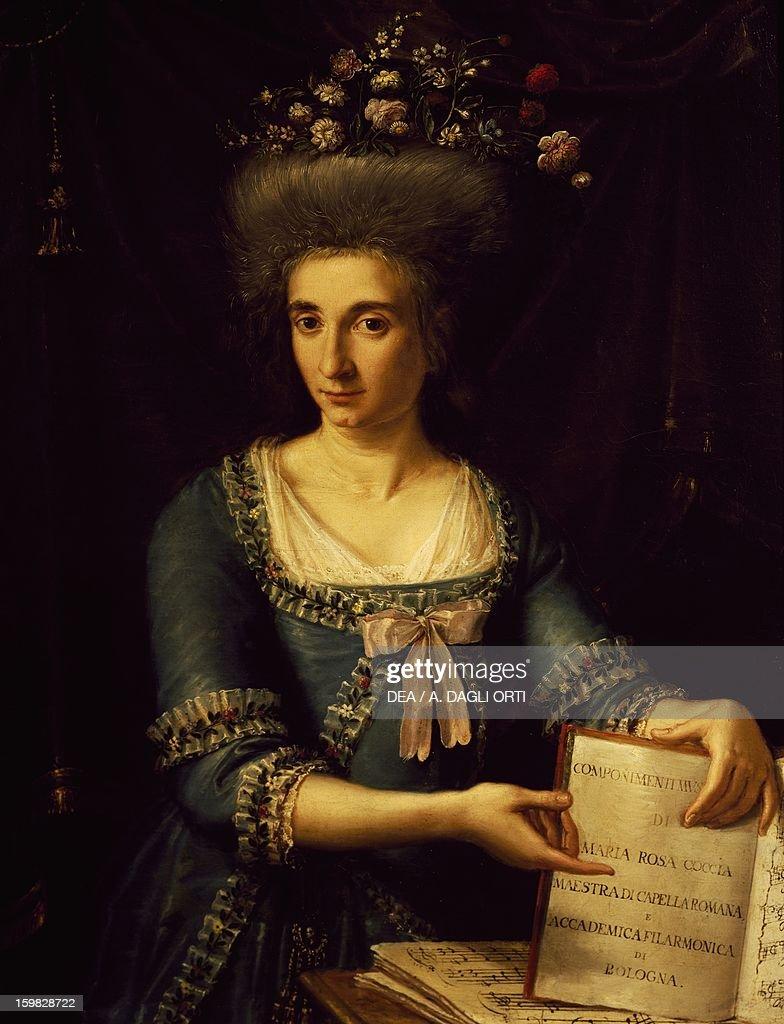 Portrait of Maria Rosa Coccia... : Nachrichtenfoto