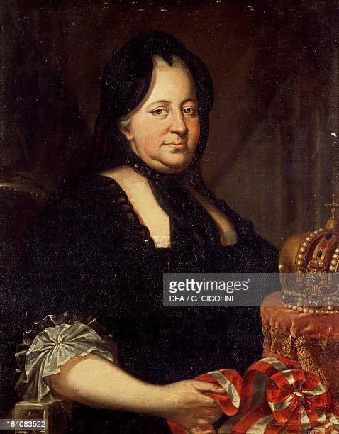 Portrait of Maria Theresa , Empress consort of Francis I , emperor of the Holy Roman Empire. Milan, Civico Museo Del Risorgimento