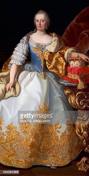 Portrait of Maria Theresa , Empress consort of Francis I , emperor of the Holy Roman Empire. Trieste, Castello Di Miramare
