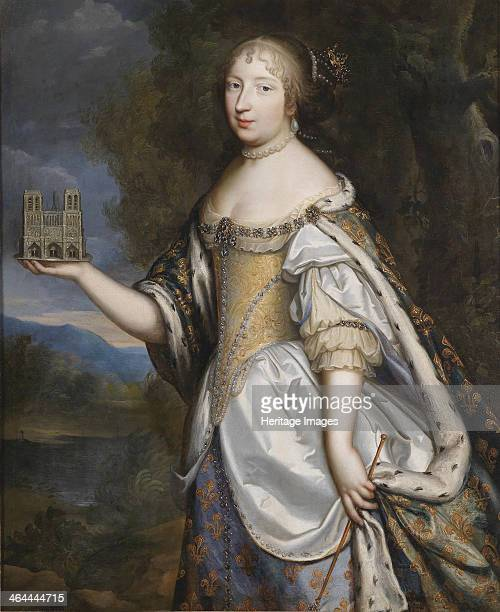 Portrait of Maria Theresa of Spain Queen consort of France and Navarre From a private collection