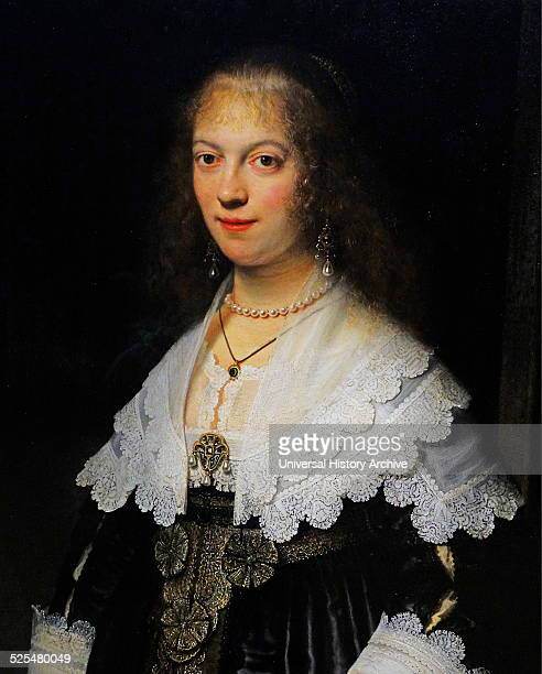 Portrait of Maria Trip Painted by Rembrandt Harmensz van Rijn Dutch painter and etcher Dated 17th Century