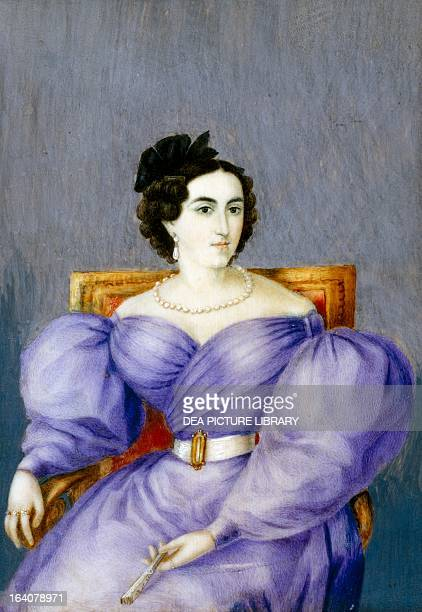 Portrait of Mariana de Carcelen y Larrea Marquesa of Solanda Ecuadorian wife of the Grand Marshal of Ayacucho Antonio Jose de Sucre y Alcala Quito...