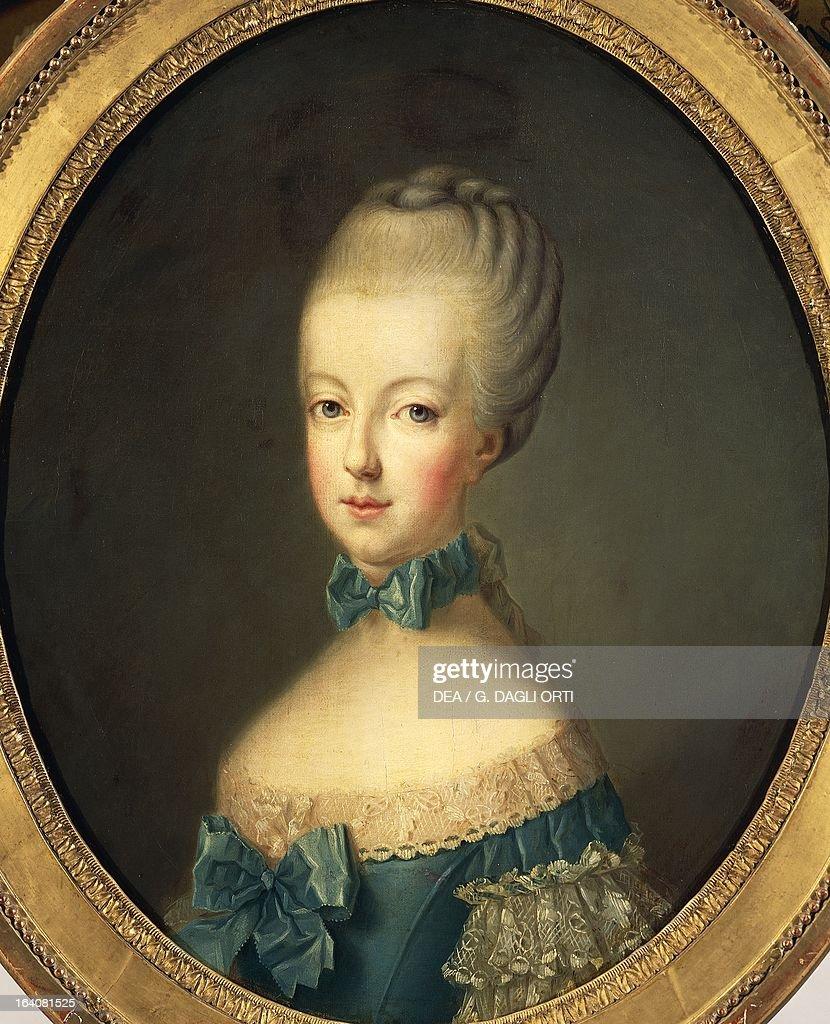 Portrait of Marie Antoinette... : Photo d'actualité