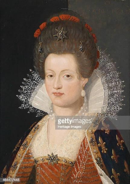 Portrait of Marie de Médici 1605 From a private collection