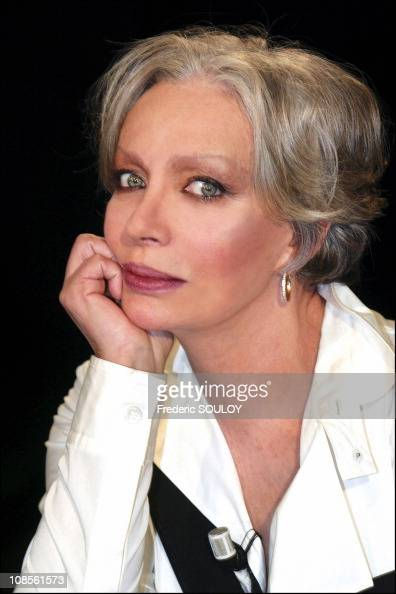 portrait of marie laforet singer and actress in france on. Black Bedroom Furniture Sets. Home Design Ideas