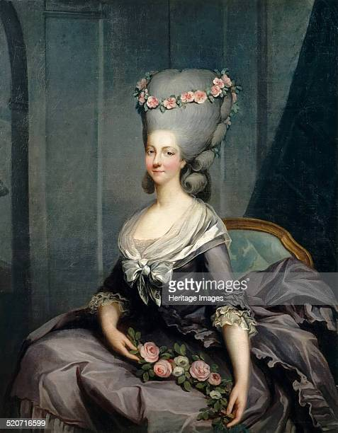 Portrait of Marie Louise of Savoy Princess of Lamballe Found in the collection of Musée de l'Histoire de France Château de Versailles