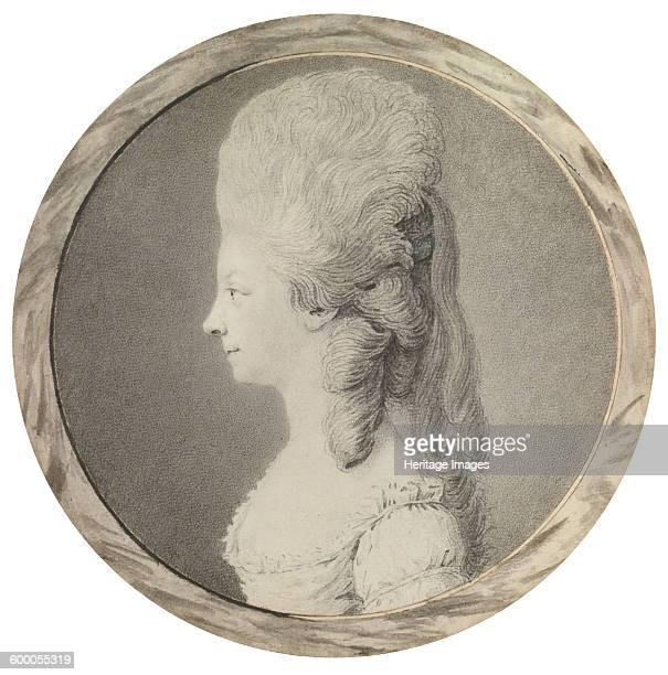 Portrait of Marie Louise of Savoy Princess of Lamballe Second Half of the 18th century Private Collection Artist Anonymous