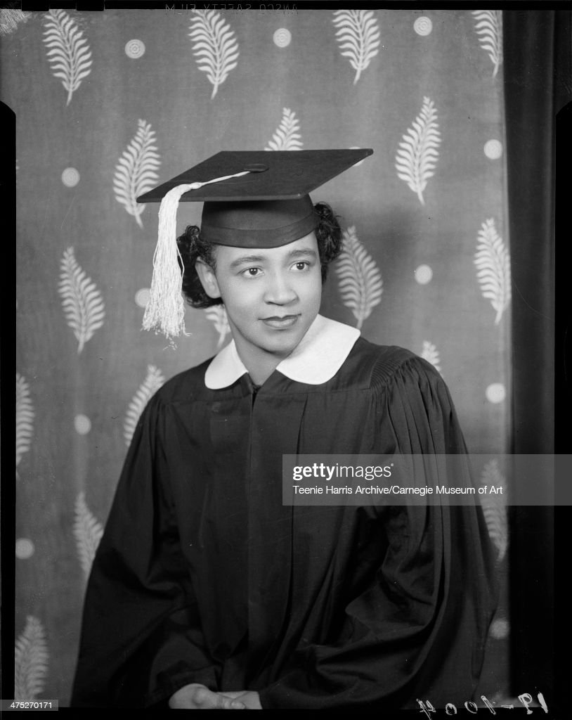 Marion Harris In Cap And Gown Pictures | Getty Images