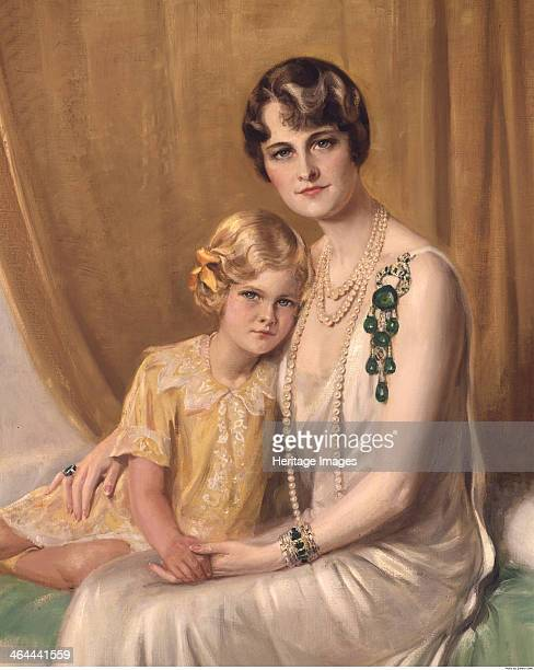 Portrait of Marjorie Merriweather Post and Her Daughter 1829 Found in the collection of the Hillwood Museum Washington