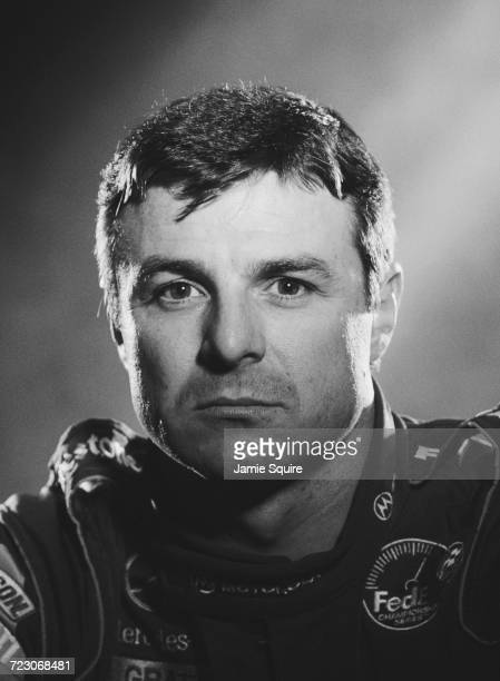 Portrait of Mark Blundell of Great Britain, driver of the Motorola PacWest Racing Reynard 2KI Mercedes IC 108E during testing for the Championship...