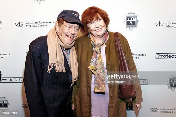 Portrait of married American comedians Jerry Stiller and Anne Meara at the Project ALS 'Tomorrow is Tonight' benefit at Lucky Strike Lanes Lounge New...