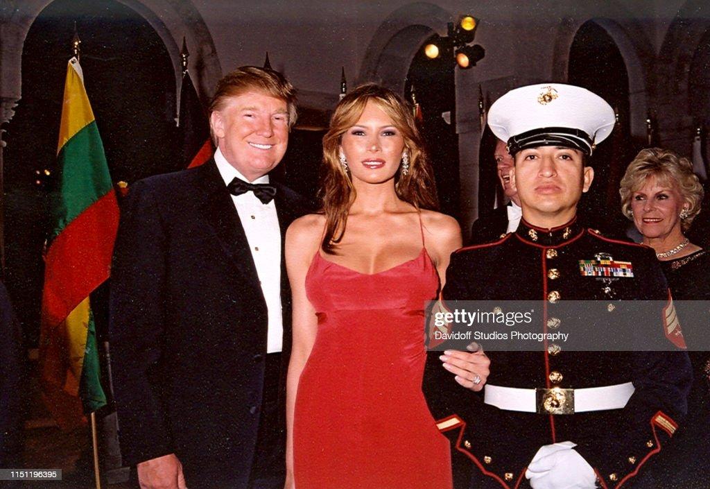 The Trumps At Mar-A-Lago : News Photo
