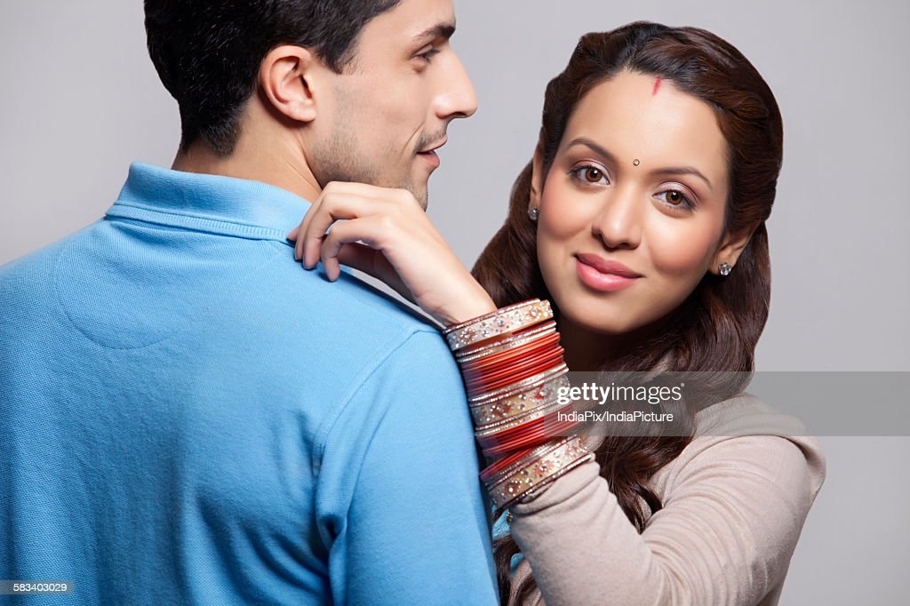 Portrait of married couple : Stock Photo