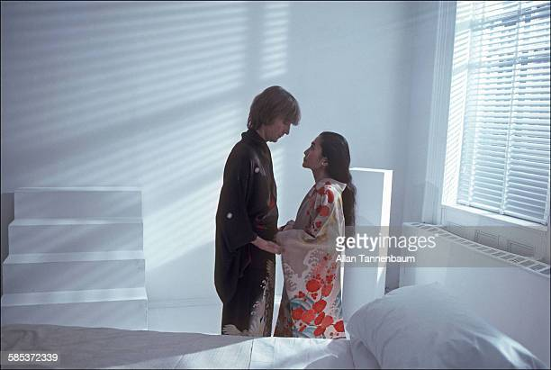 And just 10 days before Lennon's untimely death photographer Allan Tannenbaum made these intimate photos of John and Yoko.