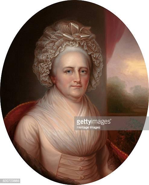 Portrait of Martha Washington Private Collection