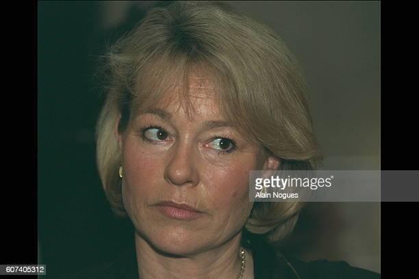 Portrait of Martine Monteil head of the anticriminal brigade