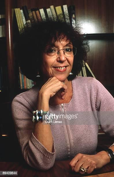 Portrait of Maruja Torres journalist and writer