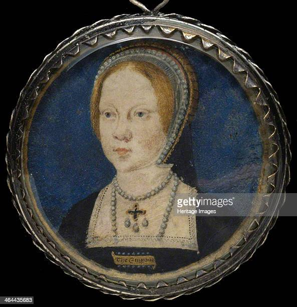Portrait of Mary I of England ca 15211525 From a private collection