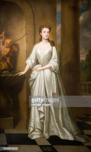 Portrait Of Mary, Marchioness Of Rockingham, d.1761, 1720. Artist Sir Godfrey Kneller. .