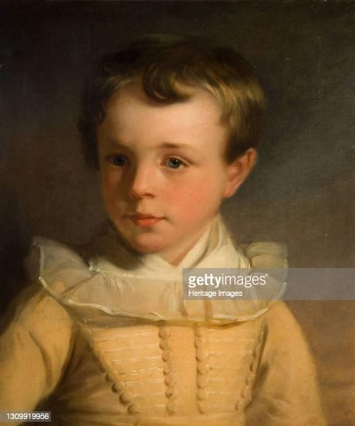 Portrait Of Master Joseph Fussell, 1826. Artist Edward Coleman. .