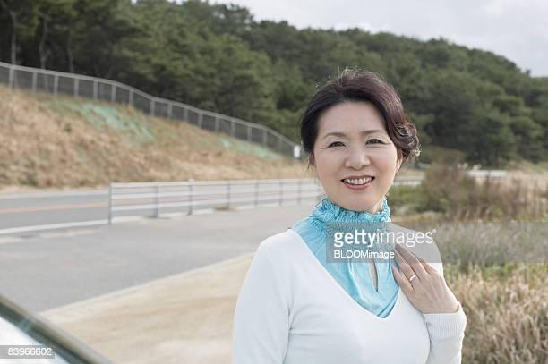 Portrait of Masture woman, smiling