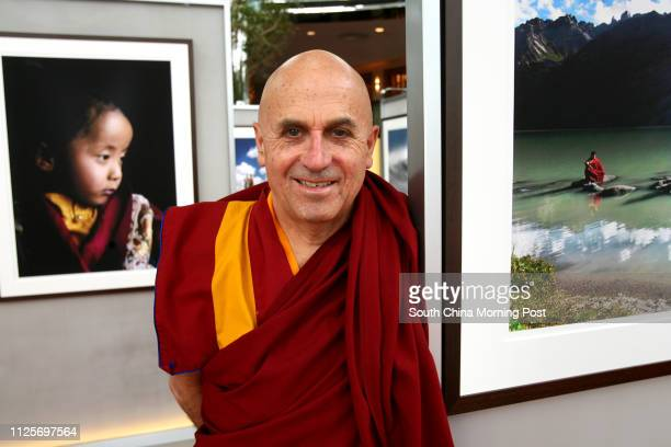 Portrait of Matthieu Ricard at his exhibition 'A Compassionate Eye' at The Rotunda Exchange Square. 22 March 2007