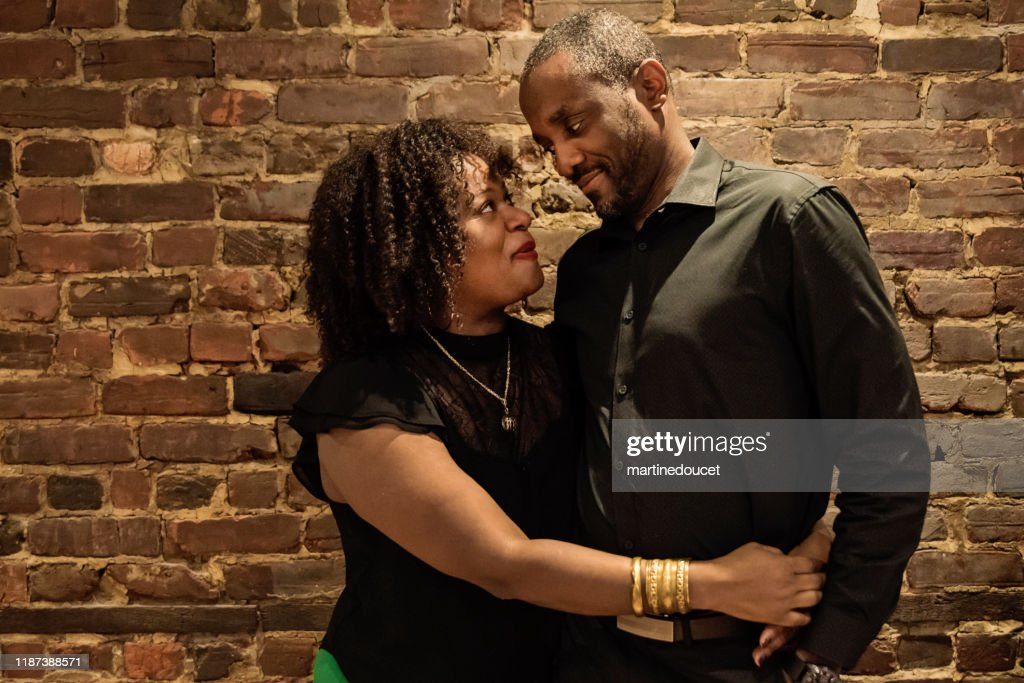 Portrait of mature African-American couple : Stock Photo