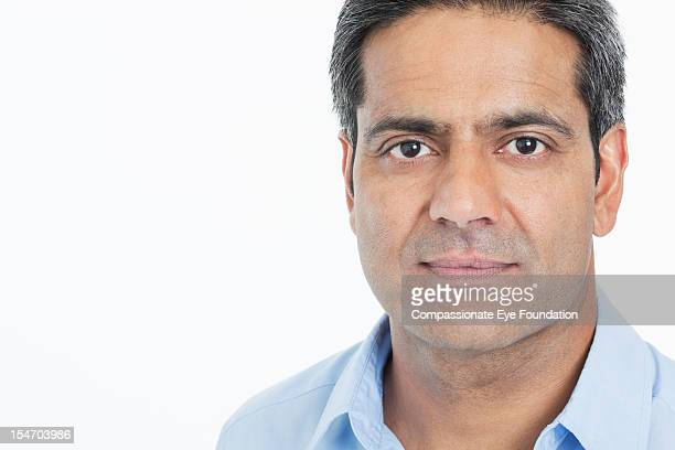 Portrait of mature businessman, close up