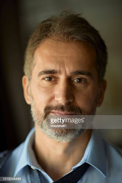 portrait of mature businessman - brown eyes stock pictures, royalty-free photos & images