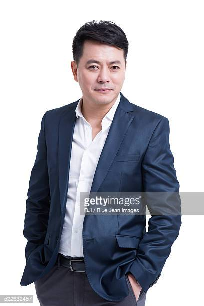 Portrait of mature businessman