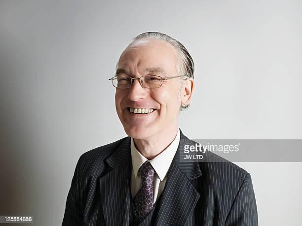Portrait of mature businessman smiling