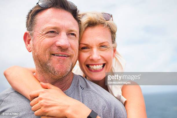 Porträt von Älteres Paar