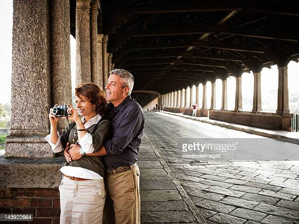 Portrait Of Mature Couple Siteseeing