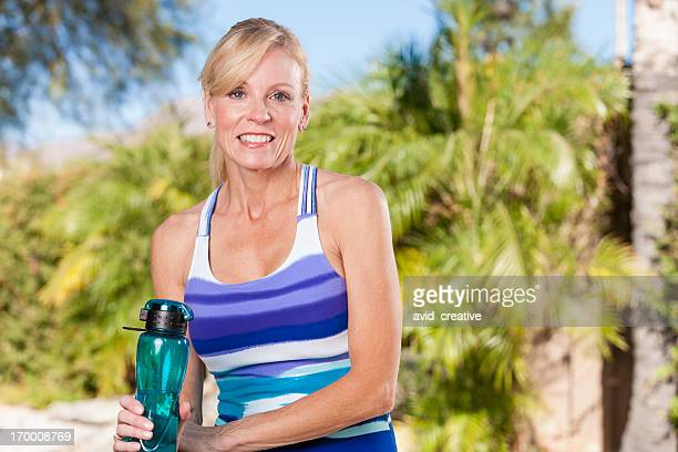 Portrait of Mature Fitness Woman