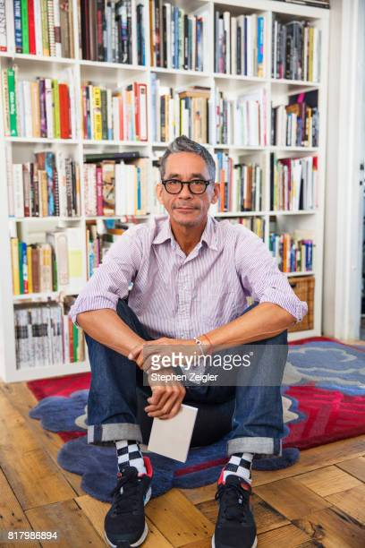 portrait of mature man - authors stockfoto's en -beelden