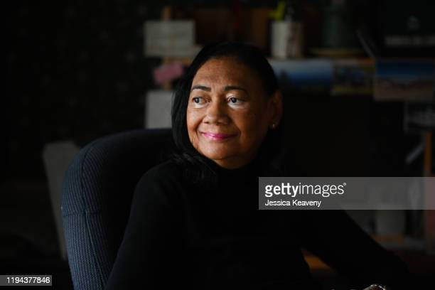 portrait of mature woc with vitiligo - fayetteville north carolina stock pictures, royalty-free photos & images