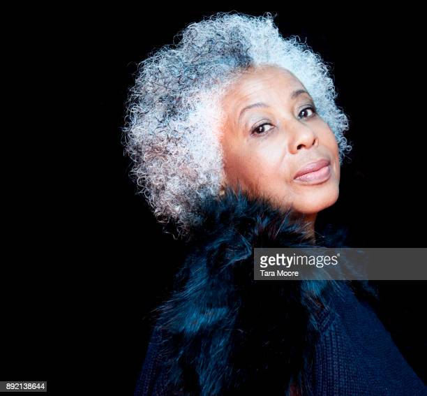 portrait of mature woman - grey hair stock pictures, royalty-free photos & images
