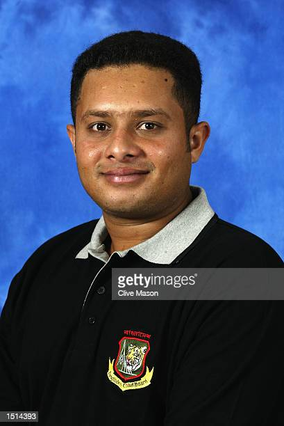 A portrait of Mazharul Haque of Bangladesh taken before the ICC Champions Trophy in Colombo Sri Lanka on September 9 2002