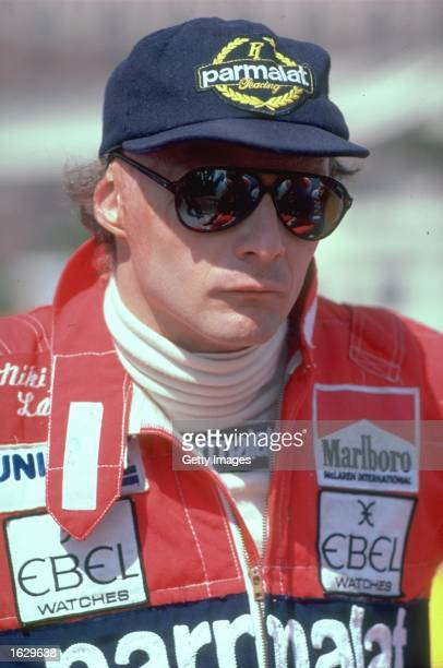 Portrait of McLaren Ford driver Niki Lauda of Austria before a Formula One race Mandatory Credit Allsport UK /Allsport